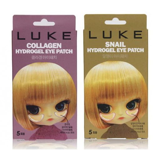 Маска–патч для кожи вокруг глаз Luke Hydrogel eye patch