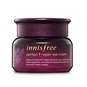Омолаживающий крем под глаза Innisfree Perfect 9 repair eye cream 30ml