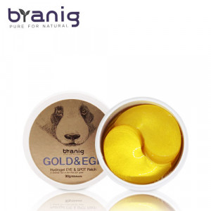 Антивозрастные патчи для кожи вокруг глаз Branig Gold& hydrogel eye&spot patch 90g/60sheets