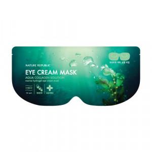 NATURE REPUBLIC Aqua Collagen Solution Marine Hydrogel Eye Cream Mask 8g