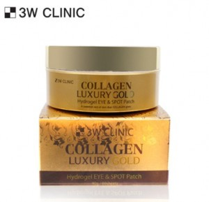 3W CLINIC Collagen Luxury Gold Hydrogel Eye & Spot Patch 60sheets