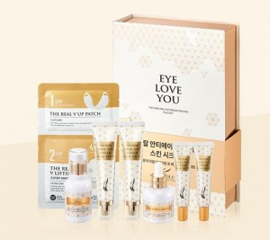 AHC The Pure Real Eye Cream For Face set