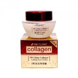 Антивозрастной крем для век с коллагеном и эффектом лифтинга 3w Clinic Collagen lifting eye cream 35ml