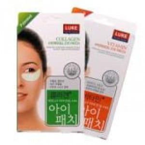 Полоски для очищения кожи вокруг глаз Luke Hydrogel eye patch