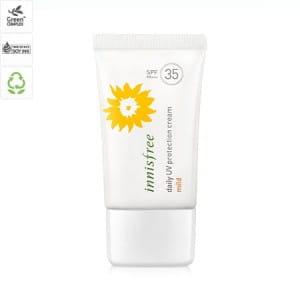 Солнцезащитный крем для лица Innisfree Daily uv protection cream mild spf35+ pa++ 50ml