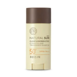 THE FACE SHOP Natural Sun Eco Clear Sunscreen Stick SPF50+ PA+++ 13.5g