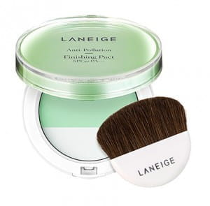 Маскировочная пудра laneige Anti-pollution finishing pact spf30 pa+++ 12g