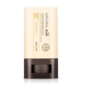 THE FACE SHOP Natural Sun Eco Clear Sunscreen Stick SPF50+ PA+++ 20g
