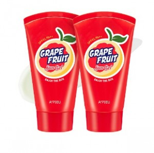 APIEU Grape Fruit Sun Gel SPF42 PA++ 65ml*2