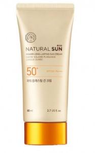 THE FACE SHOP Natural Sun Eco Power Long-Lasting Sun Cream SPF50+ PA+++ 80ml