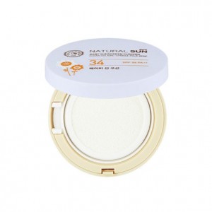 THE FACE SHOP Natural Sun Eco Baby Mild Sun Cushion SPF30 PA++ 15g