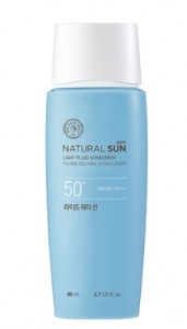 THE FACE SHOP Natural Sun Eco Light Water Sun SPF50+ PA+++ 80ml