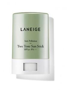 LANEIGE Anti-Pollution Two-Tone Sun Stick SPF50+ PA++++ 18g
