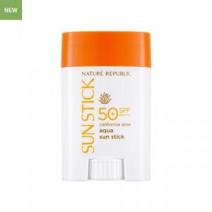 NATURE REPUBLIC California Aloe Aqua Sun Stick SPF50+ PA++++ 22g