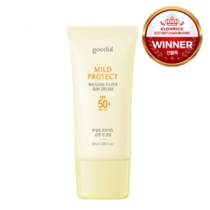 GOODAL Mild Protect Natural Filter Sun Cream SPF50+ PA+++ 50ml