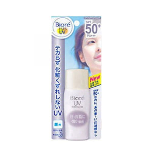 Матирующее солнцезащитное молочко Biore Perfect face milk spf50+ pa+++ 30ml