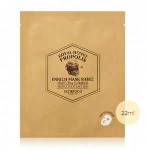 SKINFOOD Royal Honey Propolis Enrich Mask Sheet 22ml