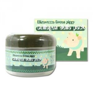 Коллагеновая маска с лифтинг-эффектом Elizavecca Green Piggy Collagen Jella Pack 100g