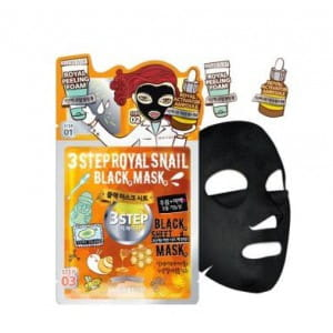 DEWYTREE 3 Step Royal Snail Black mask [25g/10ea]