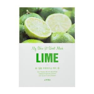 APIEU My Skin - Fit Sheet Mask - Lime 25g