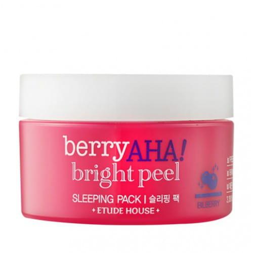 Ночная маска Etude House berry aha bright peel sleeping pack 100ml