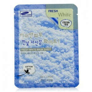 Тканевая маска – патч для ухода за кожей лица 3w Clinic Fresh mask sheet [white] x10sheet
