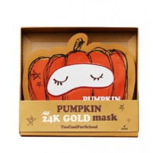 Too Cool For School Pumpkin 24K Gold Mask Set 25g*10ea