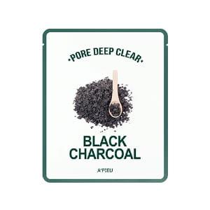APIEU Pore Deep Clear Black Charcoal Mask 15g