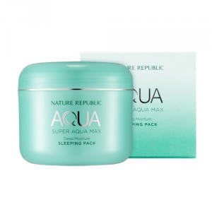 Увлажняющая ночная маска Nature Republic Super aqua max deep moisture sleeping pack 100ml