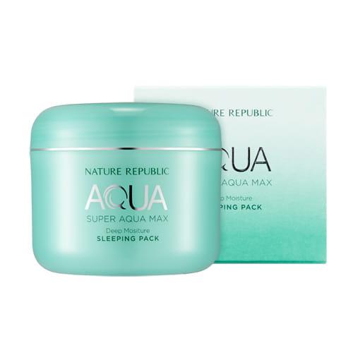 Увлажняющая ночная маска Nature Republic Super aqua max deep moisture sleeping pack 100ml