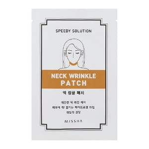 Моделирующая маска-патч Missha Speedy solution neck wrinkle patch 1ea