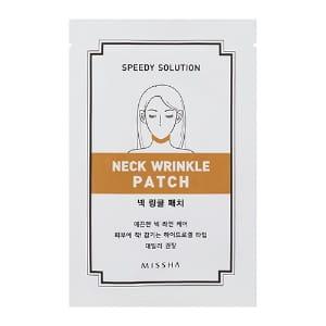 Моделирующая маска-патч Missha Speedy solution neck wrinkle patch 1ea