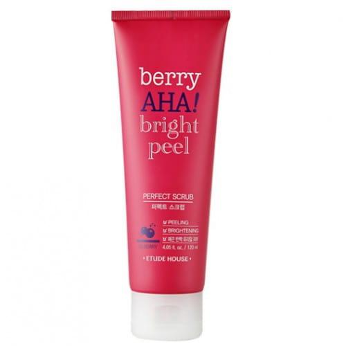 Пилинг –скраб Etude House berry aha bright peel perfect scrub 120ml