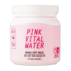 ETUDE HOUSE Pink Vital Water Wash Off Pack 100ml