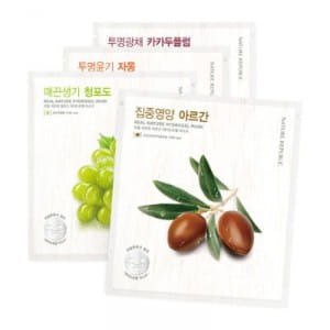 Питательная маска Nature Republic Real nature hydro gel mask 22g*20ea