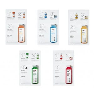 MISSHA 3-STEP Mask 1.5g+25g+1.5g