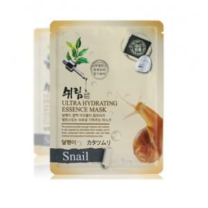 SHELIM ultra hydating essence mask [Snail] *10ea