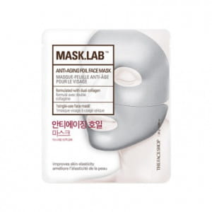 THE FACE SHOP Mask Lab Anti-Aging Foil Face Mask 25g