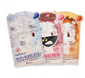 ELIZAVECCA Liar Beautiful Girl 3step mask pack 1set/10sheet
