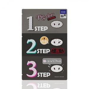 HOLIKA HOLIKA Pig Nose Clear Blackhead 3-step Kit STRONG