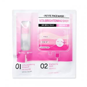 ETUDE HOUSE Petite Face Mask Vita Brightening Shot