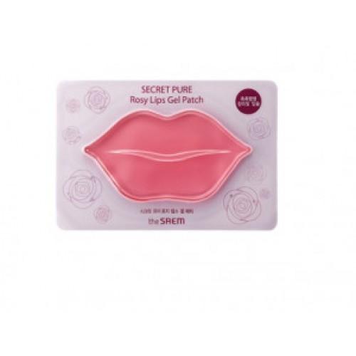 Гидрогелевые патчи для губ Тhe Saem secret pure rosy lips gel patch 10g