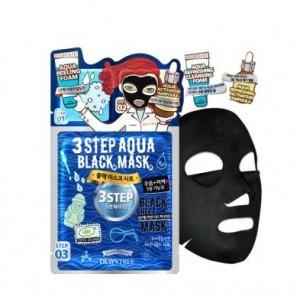 DEWYTREE 3TEP Aqua Black mask [25g/10EA]