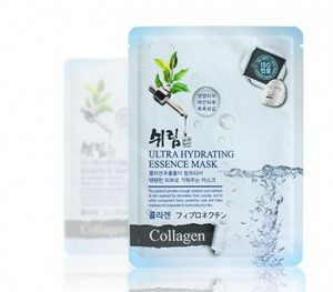 SHELIM ultra hydating essence mask [Collagen] *10ea