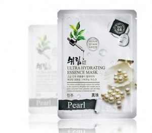 SHELIM ultra hydating essence mask [Pearl] *10ea