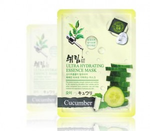 SHELIM ultra hydating essence mask [Cucumber] *10ea