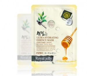 SHELIM ultra hydating essence mask [Royal Jelly] *10ea