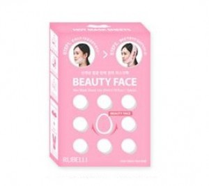 RUBELLI Beauty Face (mask sheet 7ea) (pink box)