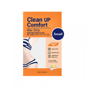 MISSHA Clean Up Comfort Wax Strip (Small) 10ea