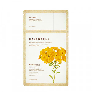 THE FACE SHOP Calendula Essential Oil Layering Face Mask 21.5g
